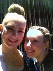Ms. Lindsay and I after my solo
